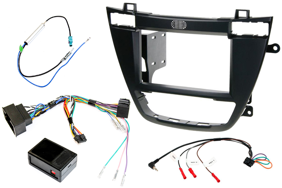 Vauxhall Insignia double din stereo fitting kit with steering control interface