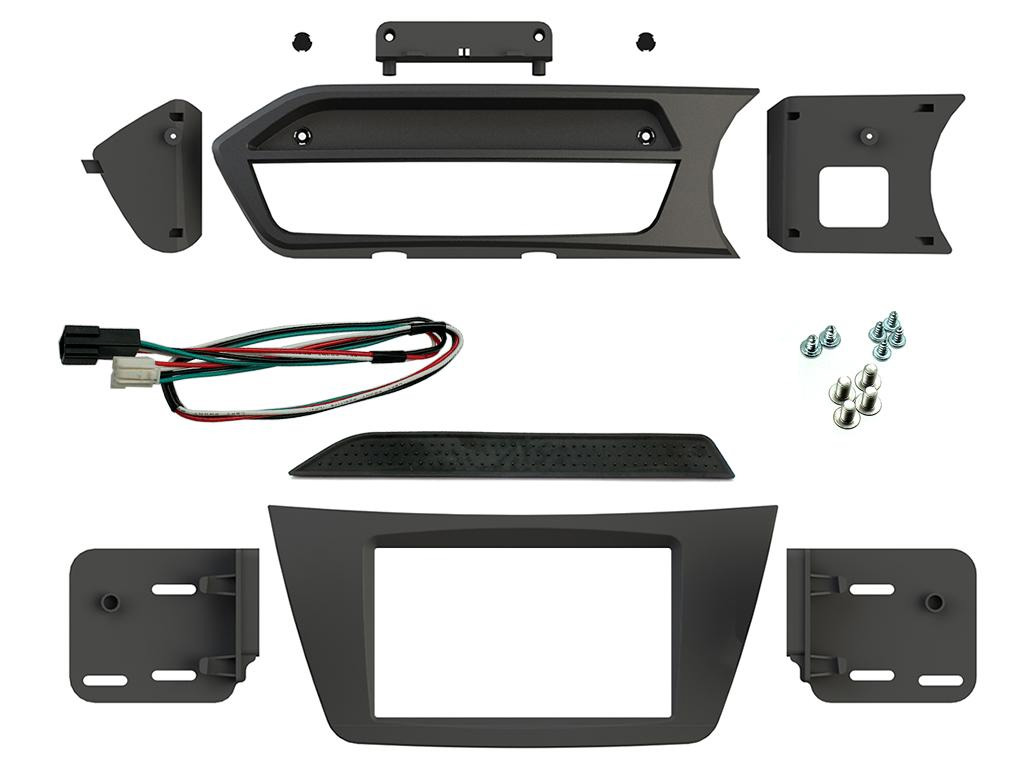 Fascia Adapter Panels Radio Cages Car Specific Incartec 20012006 Round Pin Stereo Surround Wiring Fitting Kit Mercedes C Class W204 Panel Flush Fit