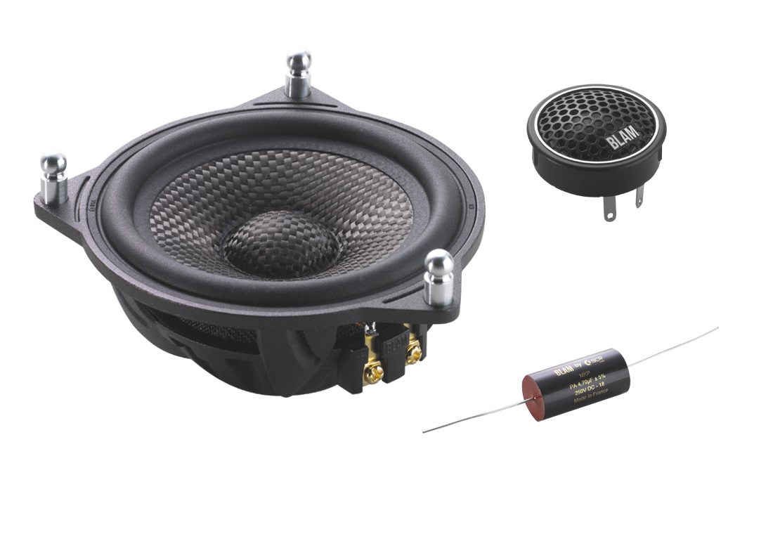 BLAM Signature S100N24 BMW Mercedes component speakers