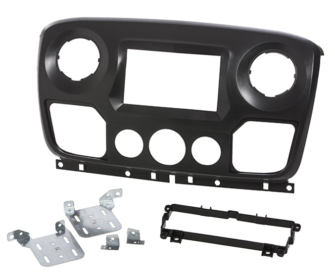 Master, Movano double din radio fascia adapter dashboard panel