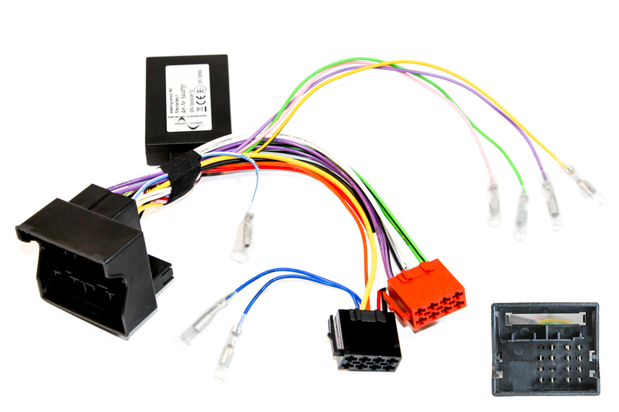 Mercedes A, B, C, CL, CLK, G, ML, SLK, Sprinter and Vito steering wheel control interface