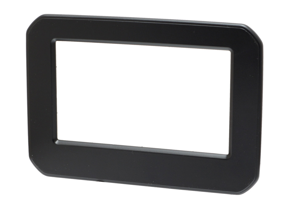 Suzuki Ignis double DIN radio fascia adapter panel, matt black