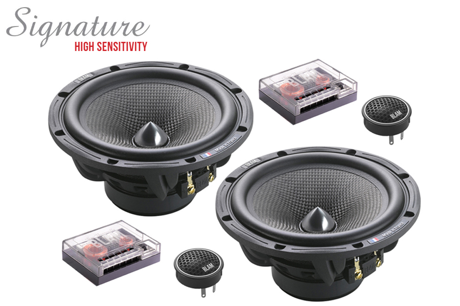 BLAM 165.80 SIGNATURE High Sensitivity 165mm (6.5 inch) 120W 2-way component speaker system
