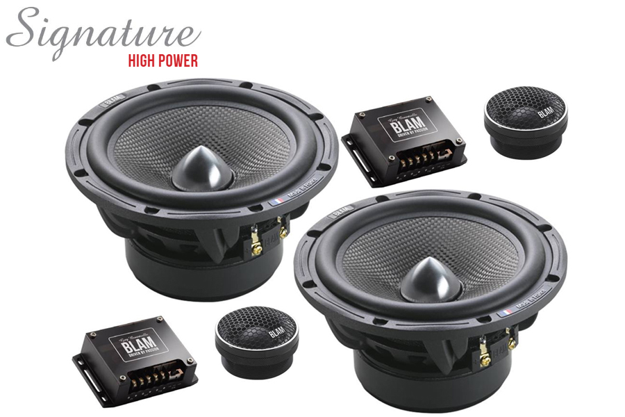 BLAM S165.100 SIGNATURE High Power 165mm (6.5 inch) 250W 2-Way component speaker system