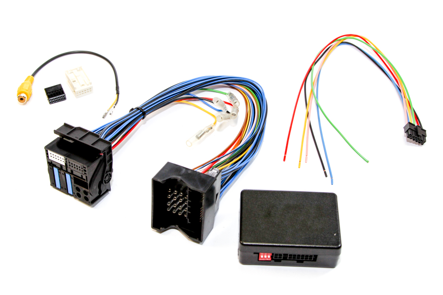 Rear view camera input interface for BMW X5/X6 with CCC Navi or radio
