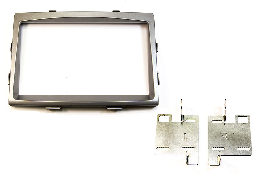 Ssangyong Rodius 2013 double DIN fascia adapter panel