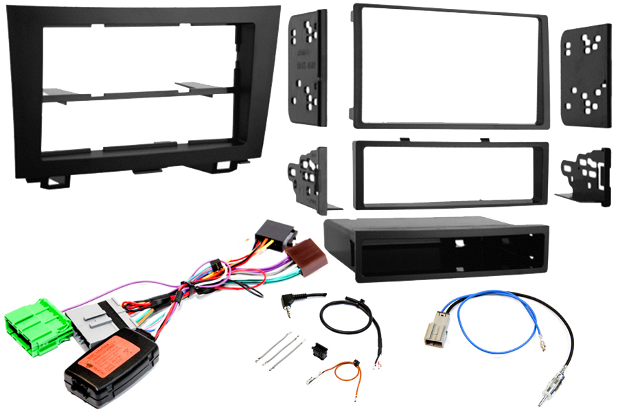 Honda CR-V (2007-2011) Single/ Double DIN complete stereo fitting kit WITH OEM NAV (Type2VNO)