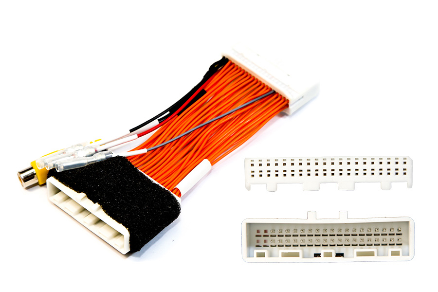 Add camera to OEM Nissan Leaf with EV GEN1 and EV GEN2 40 pin connector