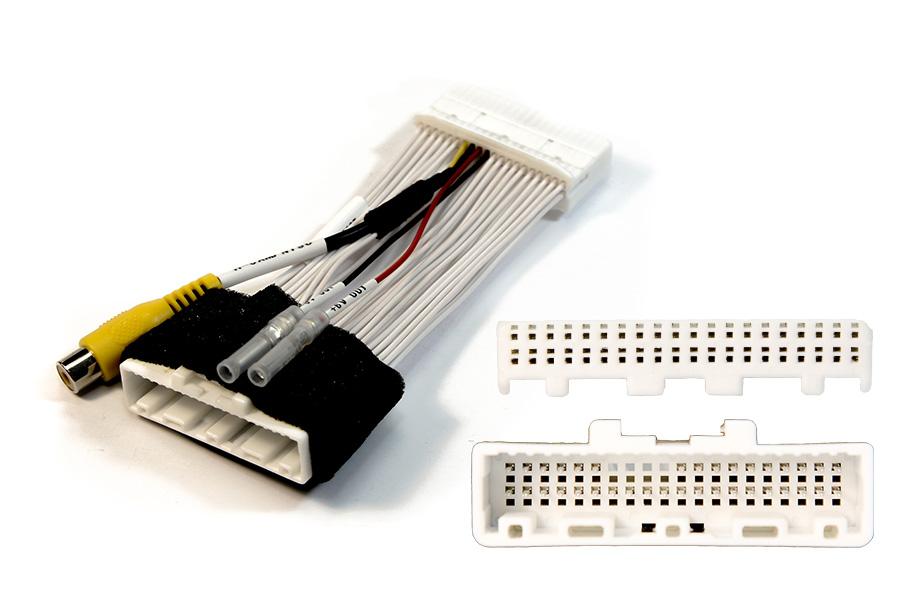 Add camera to OEM Toyota Prius/ Lexus RX MFD GEN5 multi-display 40 pin connector