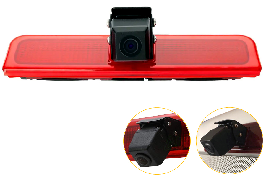 Volkswagen Caddy 03-15 brake light reverse camera NTSC