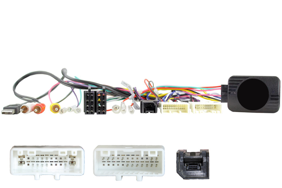 Nissan Micra 2017> Steering control interface (20 & 24 pin connectors)