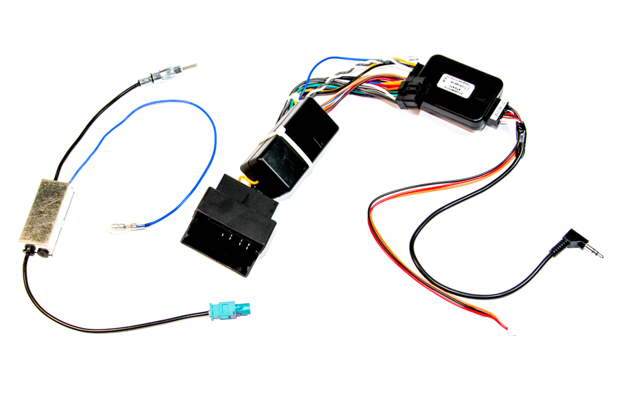 VW multimedia steering wheel control interface cable for Pioneer AVIC