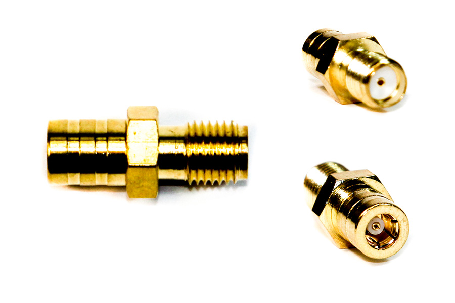 SMA female to SMB female aerial connector adapter