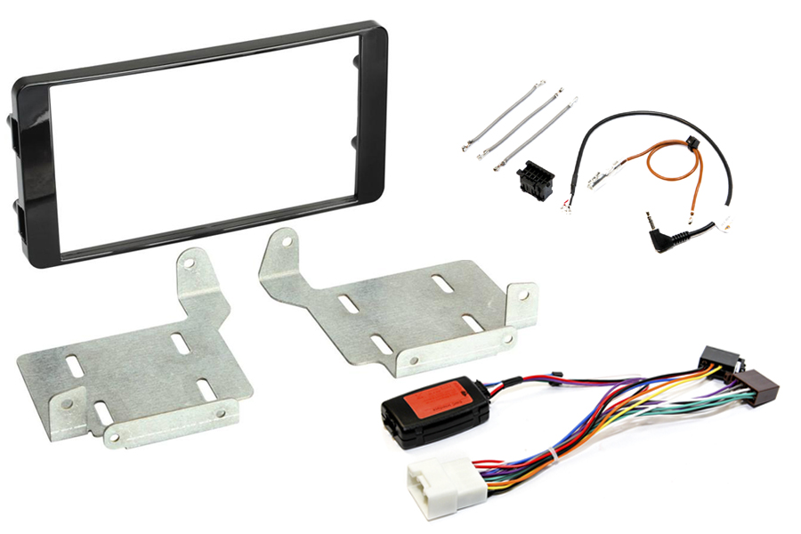 Mitsubishi ASX 2014 onwards complete double DIN Fitting Kit (without Silver Trim) PIANO BLACK