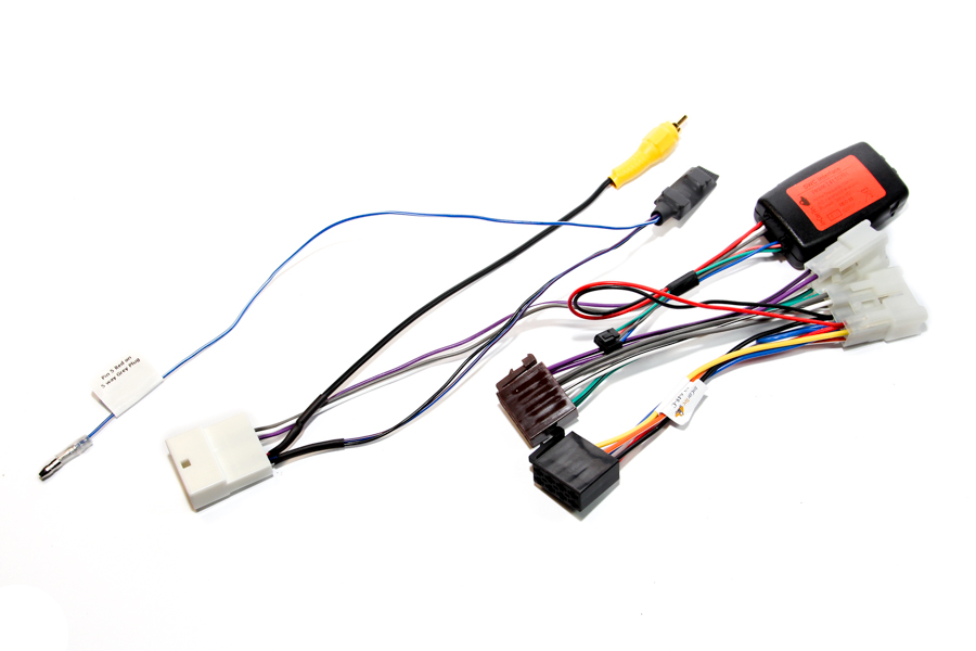 Toyota RAV4 Audio Steering control interface with camera retention