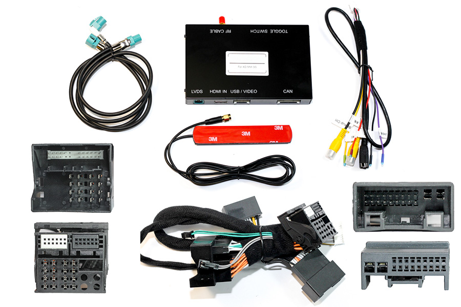 CarPlay/ Android integration adapter interface for Audi with MMI 3G High system