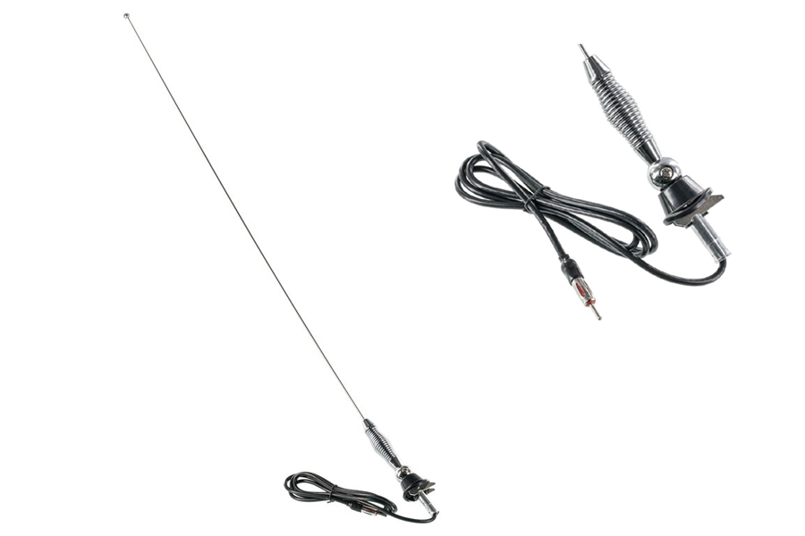 AM/FM Spring Side Top mount Antenna with split ball