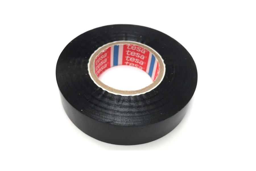 Tesa PVC electrical insulation tape 33m (Black)