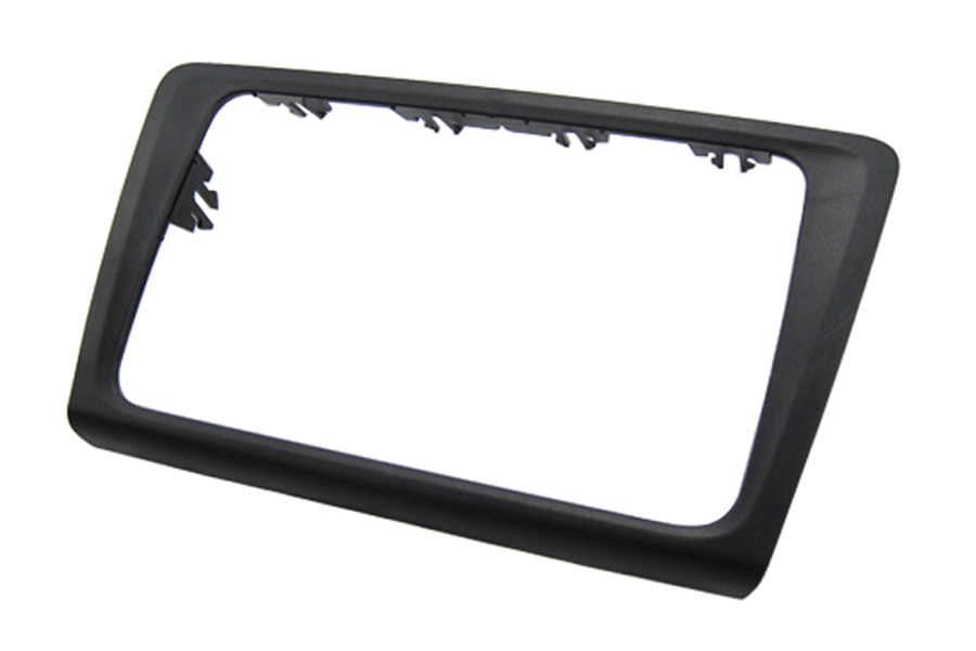 Skoda Rapid Double din fascia 2013 onwards (Matt Black)