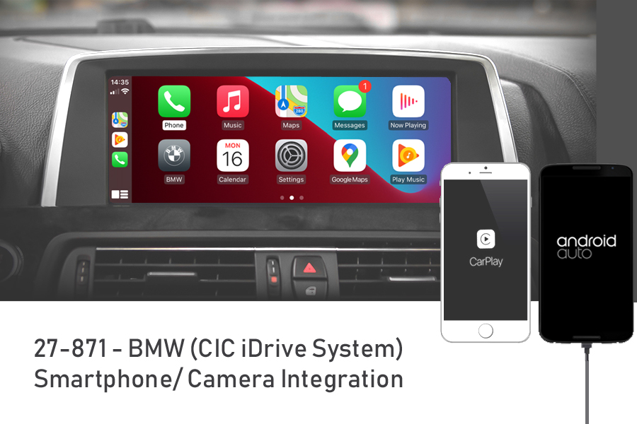 Smartphone/ Camera integration for BMW with CIC iDrive systems