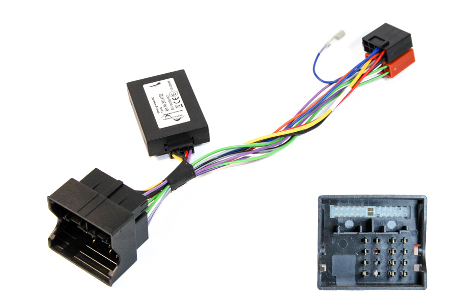 Ford quadlock steering wheel control interface (CARS WITHOUT CAN)