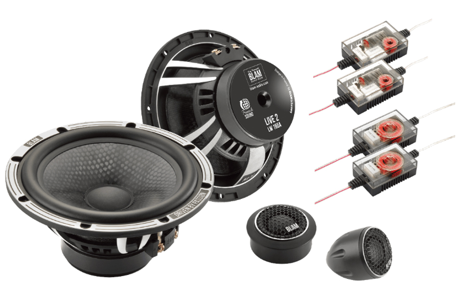 BLAM LIVE ACOUSTIC 165mm (6.5 inch) High fidelity 140W 2-way component speaker system