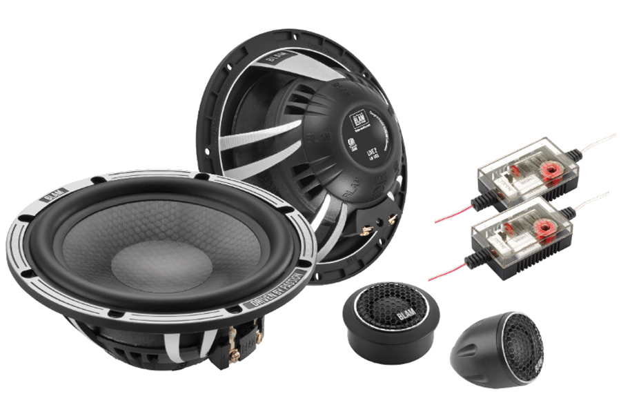 BLAM LIVE SOLO 165mm (6.5 inch) SLIM 140W 2-way component speaker system