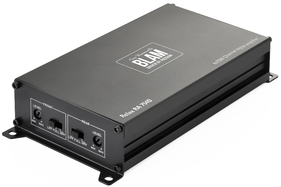 BLAM Ultra-compact 4 channels amplifier (OEM Compatible)