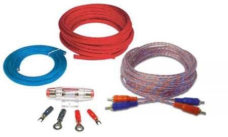 Amplifier wiring kit 10mm2  (8 Guage)