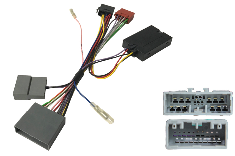 Honda Civic (8th Gen), CR-V (3rd Gen) and FR-V steering wheel control interface and ISO cables