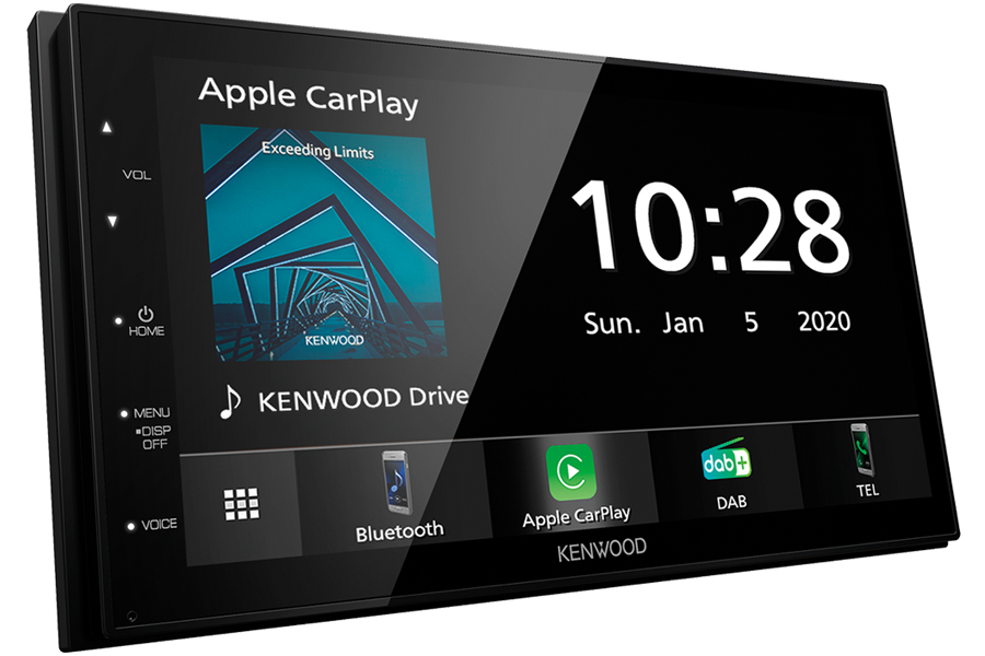 Kenwood DMX5020DABS Double DIN DAB Stereo Head Unit with Short Chassis (CARPLAY/ ANDROID)