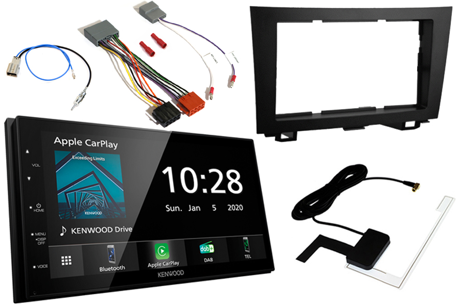 Honda CR-V (2007-2011) Double DIN fitting kit and Kenwood DMX5020DABS (Carplay/Android)