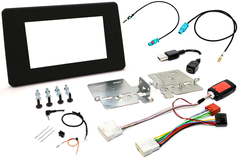 Renault Master, Nissan NV400, Vauxhall Movano (2020>) Double DIN stereo fitting kit (BASIC AUDIO)