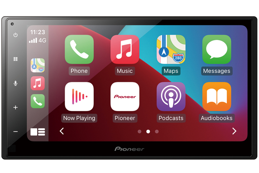 Pioneer SPH-DA160DAB Double DIN stereo head-unit with Car Play and Android Auto