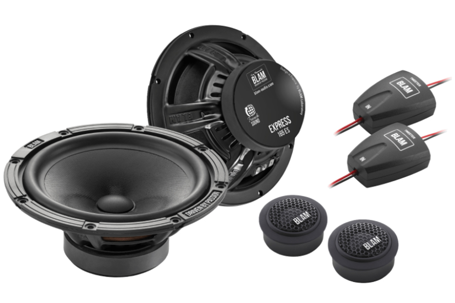 "BLAM 165ES 165mm (6.5"") EXPRESS 2-Way component speakers (PAIR)"