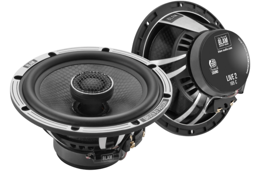 BLAM LIVE ACOUSTIC 165mm (6.5 inch) High fidelity 140W coaxial speakers (PAIR)
