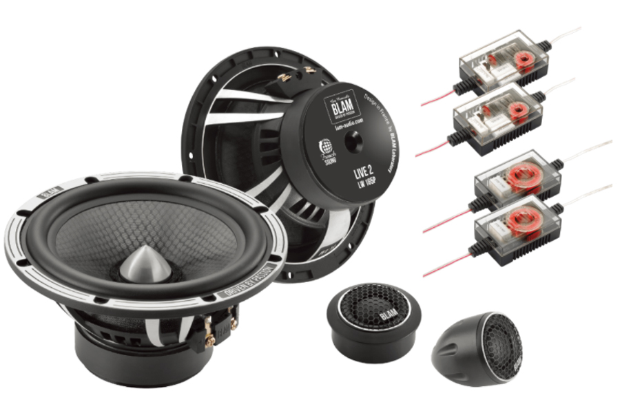 BLAM LIVE HIGH POWER 165mm (6.5 inch) 180W 2-way component speaker system
