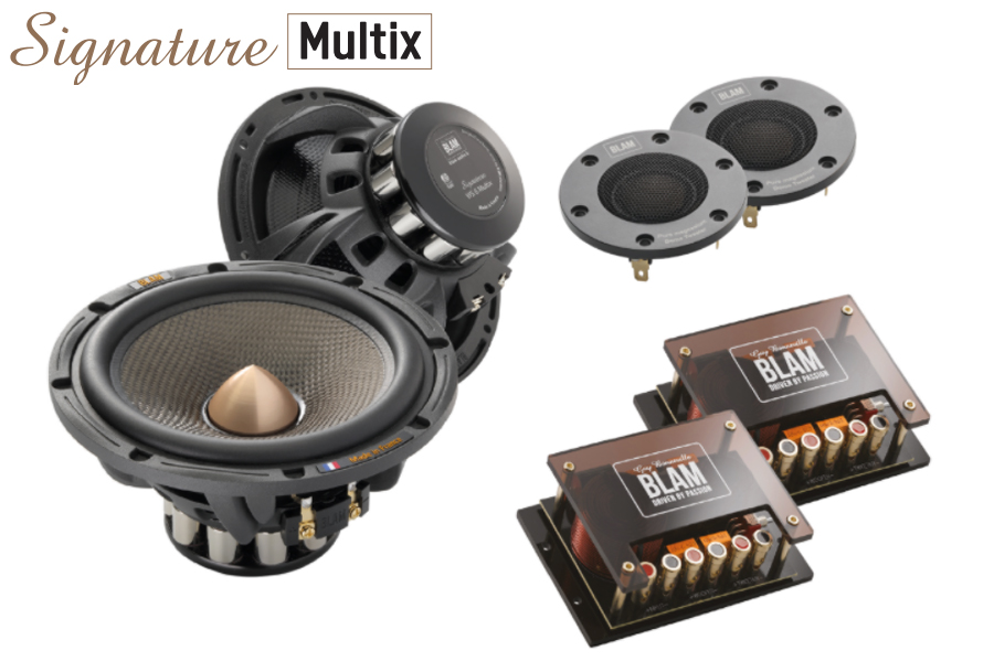 BLAM SIGNATURE Multix 165mm (6.5 inch) 250W 2-Way component system (SPECIAL ORDER PRODUCT)