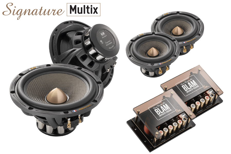 BLAM SIGNATURE Multix FREQUENCY 165mm (6.5 inch) 250W 2-Way component system (SPECIAL ORDER PRODUCT)