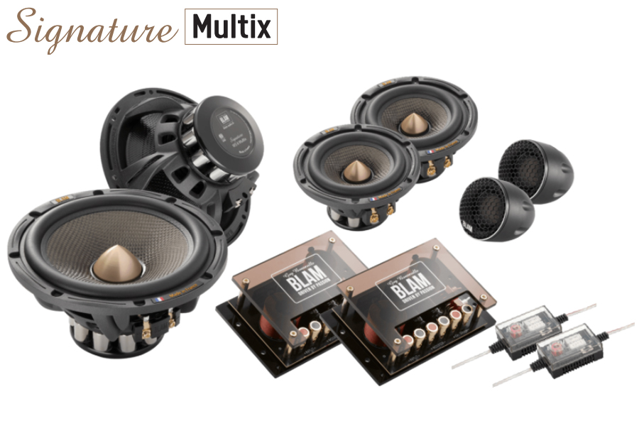 BLAM SIGNATURE Multix 165mm (6.5 inch) 250W 3-Way component system (SPECIAL ORDER PRODUCT)