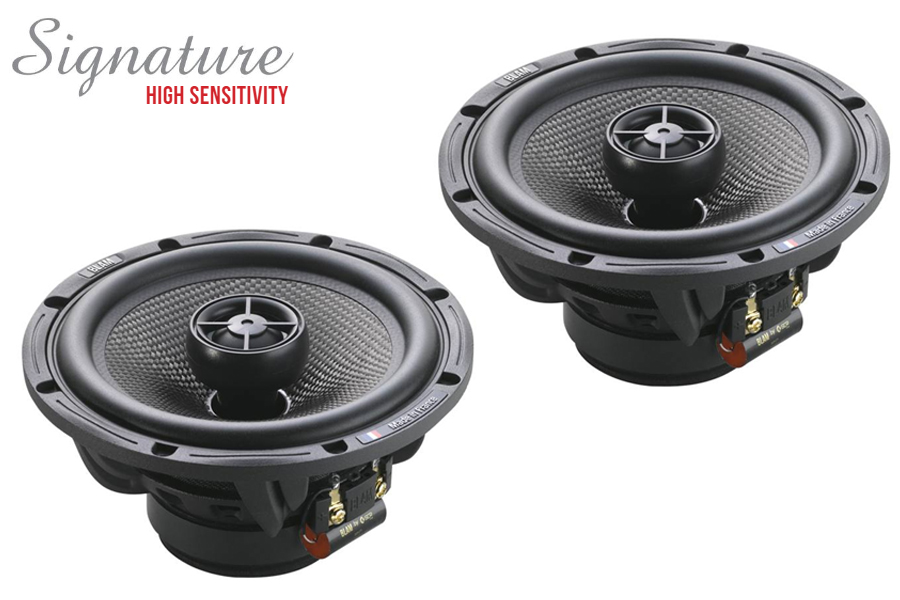 BLAM 165.80C SIGNATURE High Sensitivity 165mm (6.5 inch) 120W coaxial speakers (PAIR)