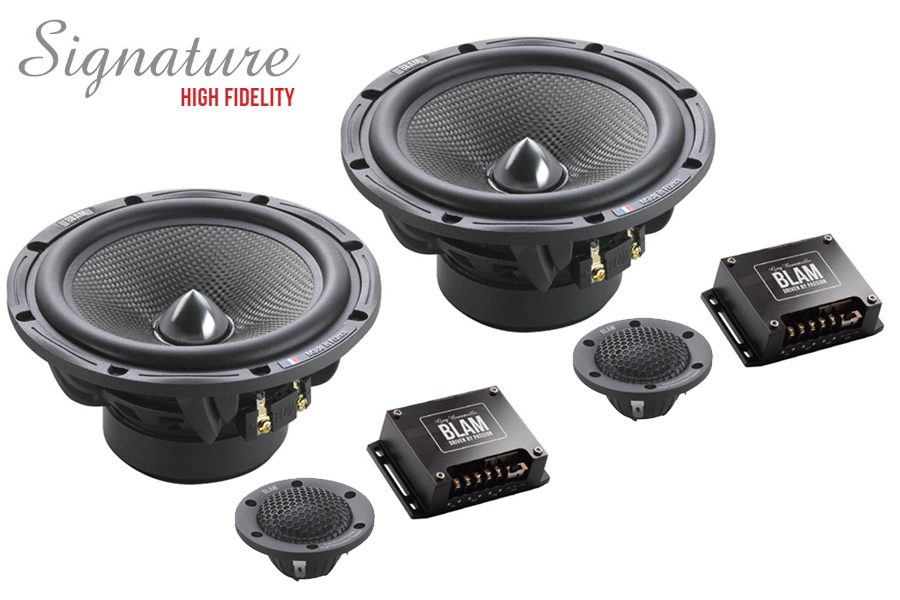 BLAM 165.85 SIGNATURE High Fidelity 165mm (6.5 inch) 200W 2-way component speaker system