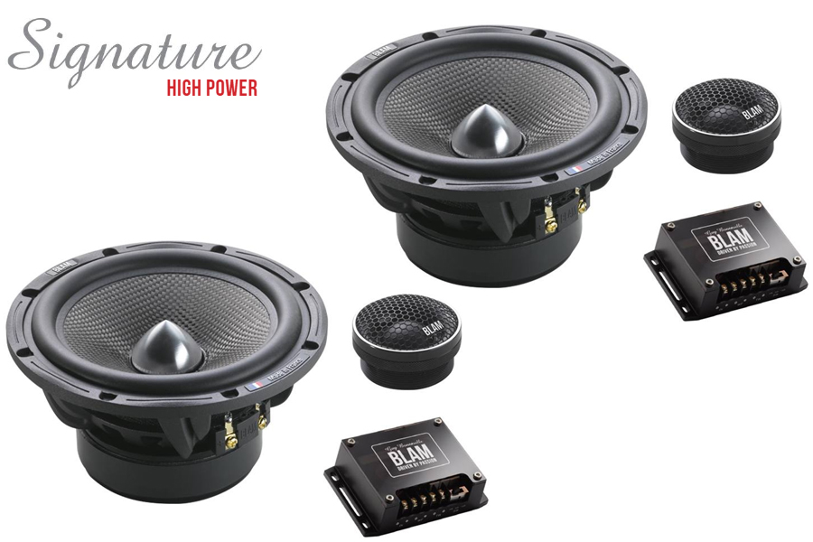 BLAM SIGNATURE High Power 165mm (6.5 inch) 250W 2-Way component speaker system (SPECIAL ORDER)