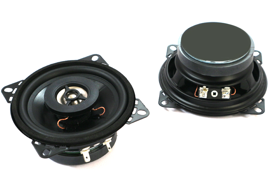 100mm (4 inch) 4ohm, 40W 2-Way Coaxial speakers (PAIR)