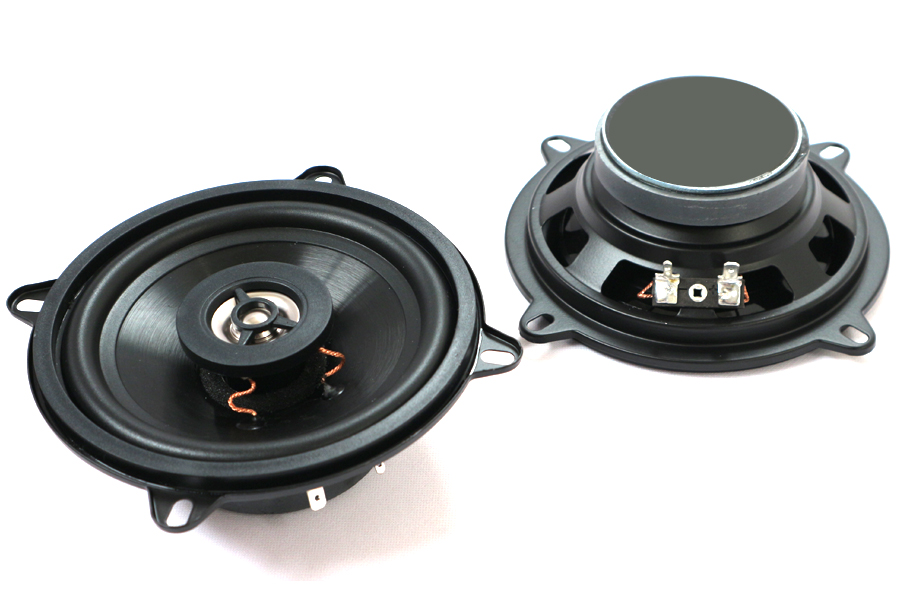 130mm (5 inch) 4ohm, 50W 2-Way Dual Cone Coaxial speakers (PAIR)
