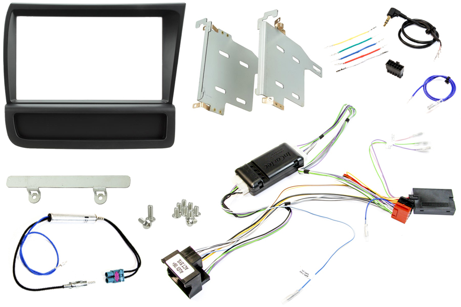 Audi R8 (2007-2015) (RIGHT HAND DRIVE) Double DIN complete stereo upgrade fitting kit