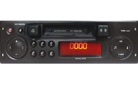 Renault Clio II Original radio options - InCarTec
